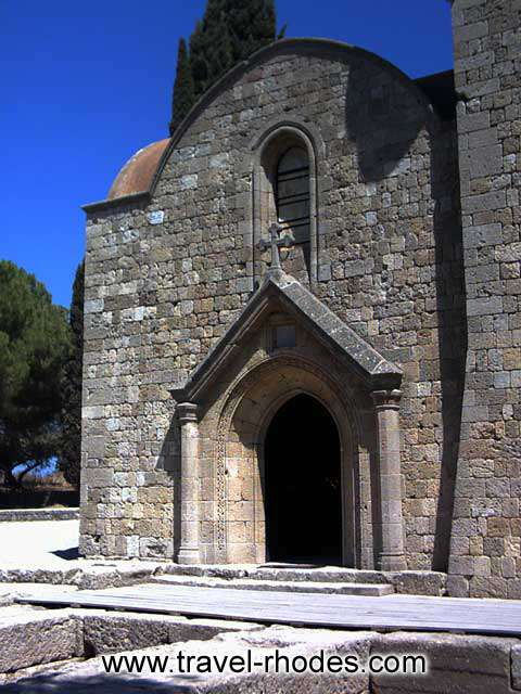 Early Christian basilica -
