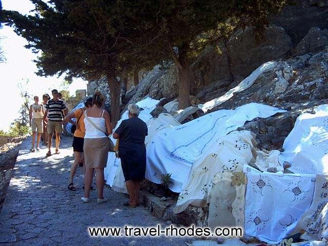 ROAD TO LINDOS ACROPOLIS -