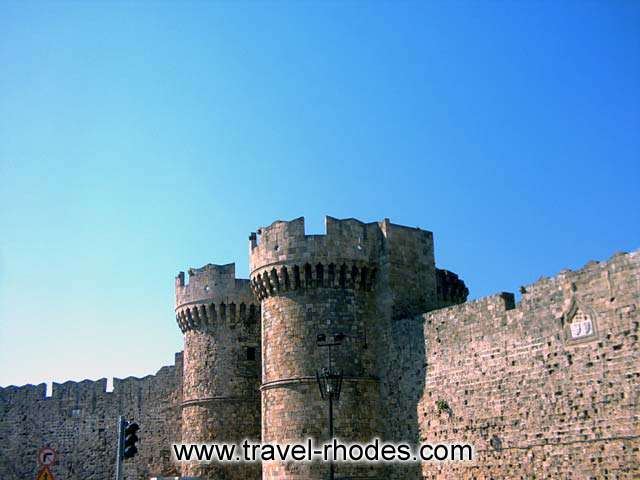 RHODES PHOTO GALLERY - PALACE OF THE GRANDMASTER