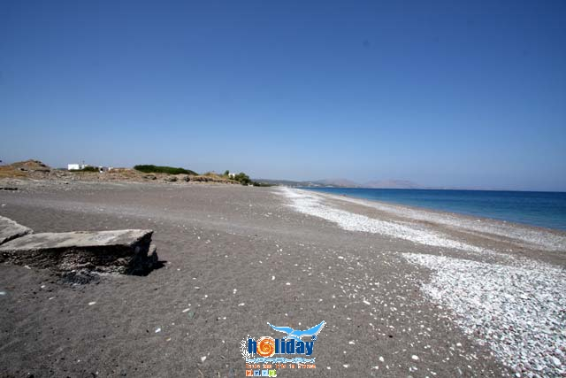 GENNADI BEACH - View of the long sandy and peble beach of Gennadi