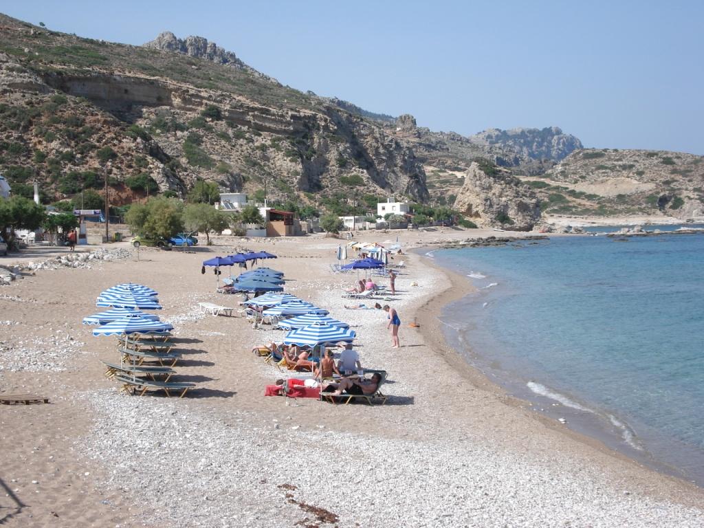 Stegna beach -