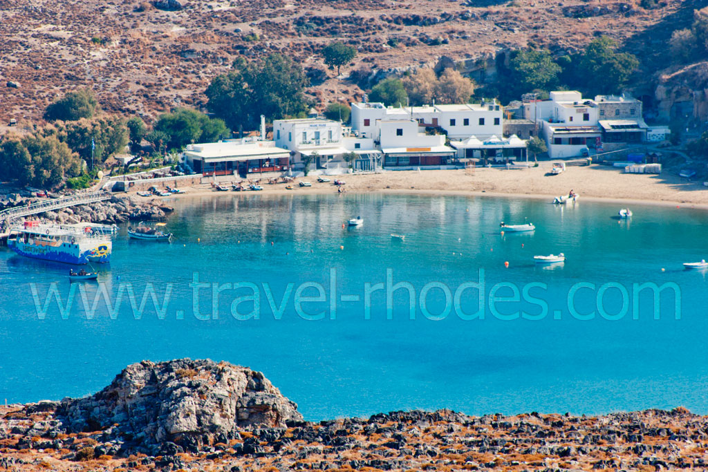 Lindos Gulf -  by gstathis