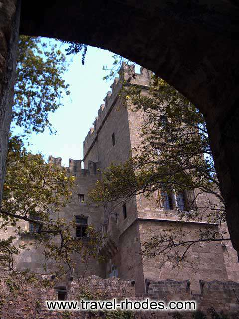MAGISTER PALACE - The palace in the old town of Rhodes