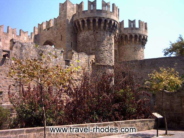 MAGISTER PALACE - The magister palace in the city of Rhodes