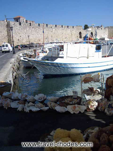 THE PORT - Boats in Rhodes port