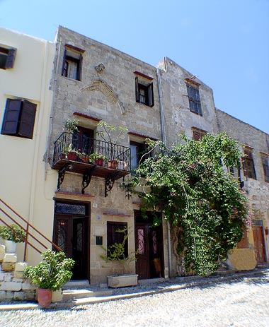 Image of Atha hotel, located in old town of Rhodes (rhodos) island, Greece CLICK TO ENLARGE