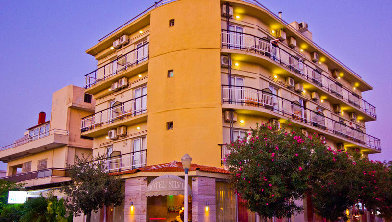 SYLVIA HOTEL  HOTELS IN  114, Kolokotroni str. (Rhodes town)