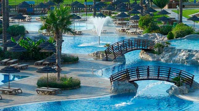 Atlantica Club Aegean Blue Hotels In Kolymbia Rhodes Greece