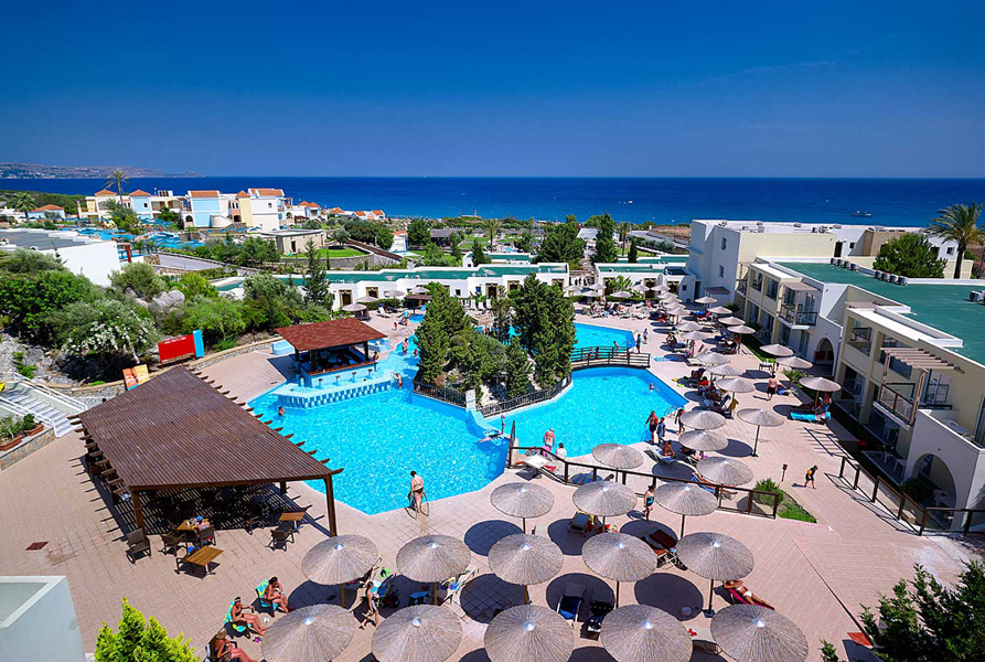 MIRALUNA KIOTARI SEASIDE 4* IN  Kiotari Beach, Rhodes