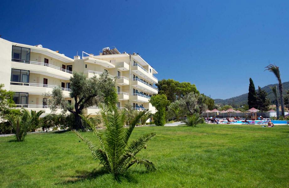 SUNLAND HOTEL 3* IN  Ialyssos Beach, Rhodes