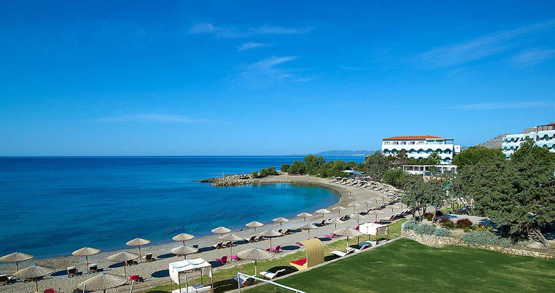 SUNRISE HOTEL IN  Pefkoi Beach, Lindos, Rhodes