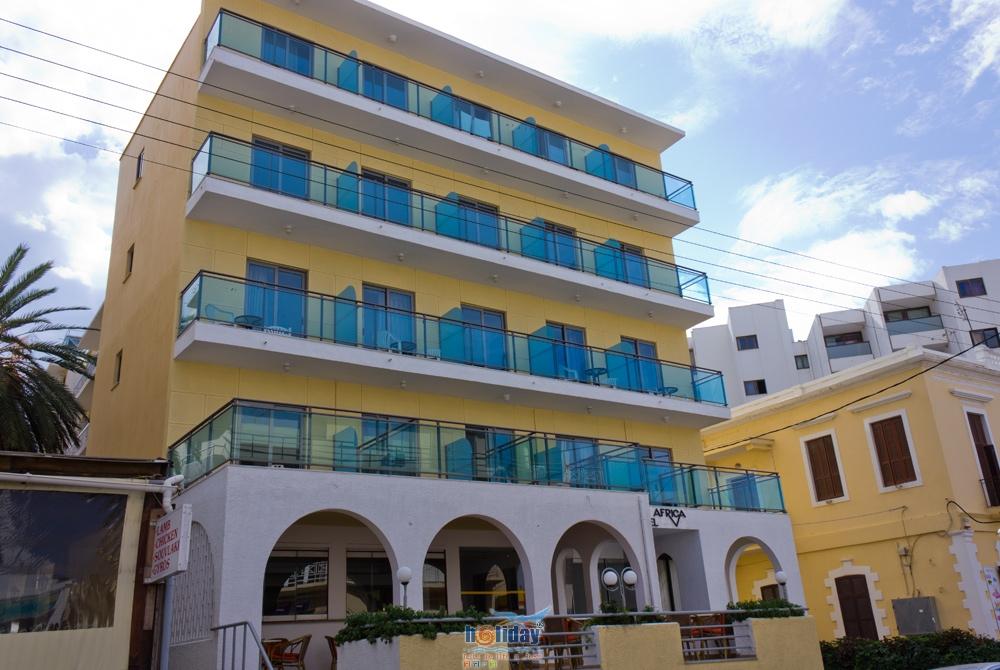 HOTEL AFRICA IN  63, A.Diakou str. (Rhodes Town)