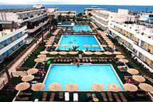 Forum beach hotel, Hotels in Ialyssos Rhodes Greece