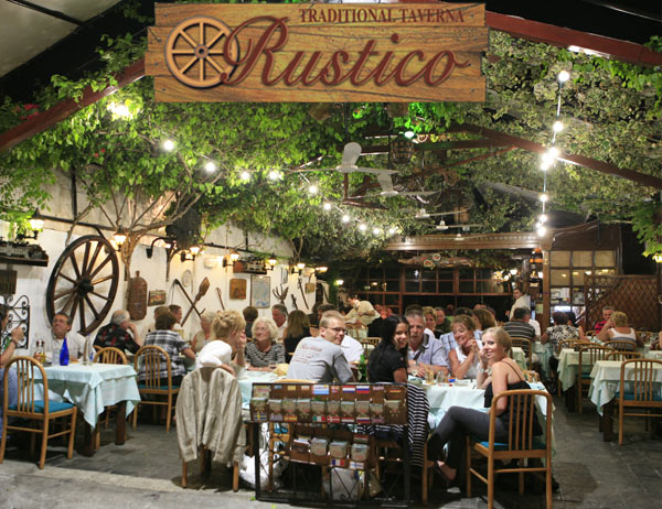 RUSTICO RESTAURANT IN  3-5, Ippodamou str.